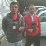 第34回男子ダブルス 準優勝:熊切・高木