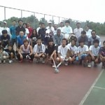 大草刈テニス会 7月19(日) 参加者約40名